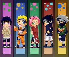 Naruto bookmarks by Momiji95