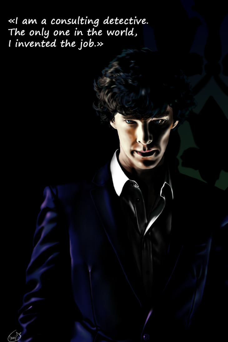 The Worlds Only Consulting Detective By Momiji95
