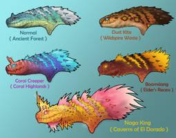 Tobi Kadachi Variants by BangBooDoragon
