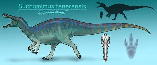 Suchomimus tenerensis by BangBooDoragon