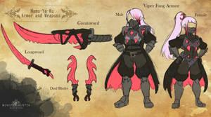 Mamu-Ya-Ku Armor and Weapon Set
