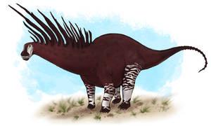 Bajadasaurus pronuspinax by BangBooDoragon