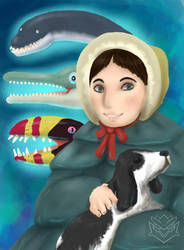 Happy Birthday Mary Anning by BangBooDoragon