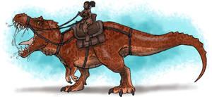 Riding Rex Reckless by BangBooDoragon