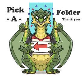Pick - A - Folder