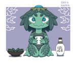 Monster Gal Challenge Day 4 - Kappa