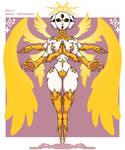 Monster Gal Challenge Day 21 - Angel - Archangel