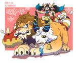 Monster Gal Challenge Day 25 - Chimera