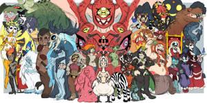 Monster Gal Challenge Day 31 - Celebration!