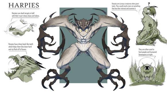 Harpies ( Redesign )