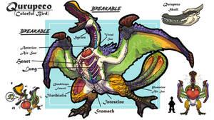 Qurupeco anatomy