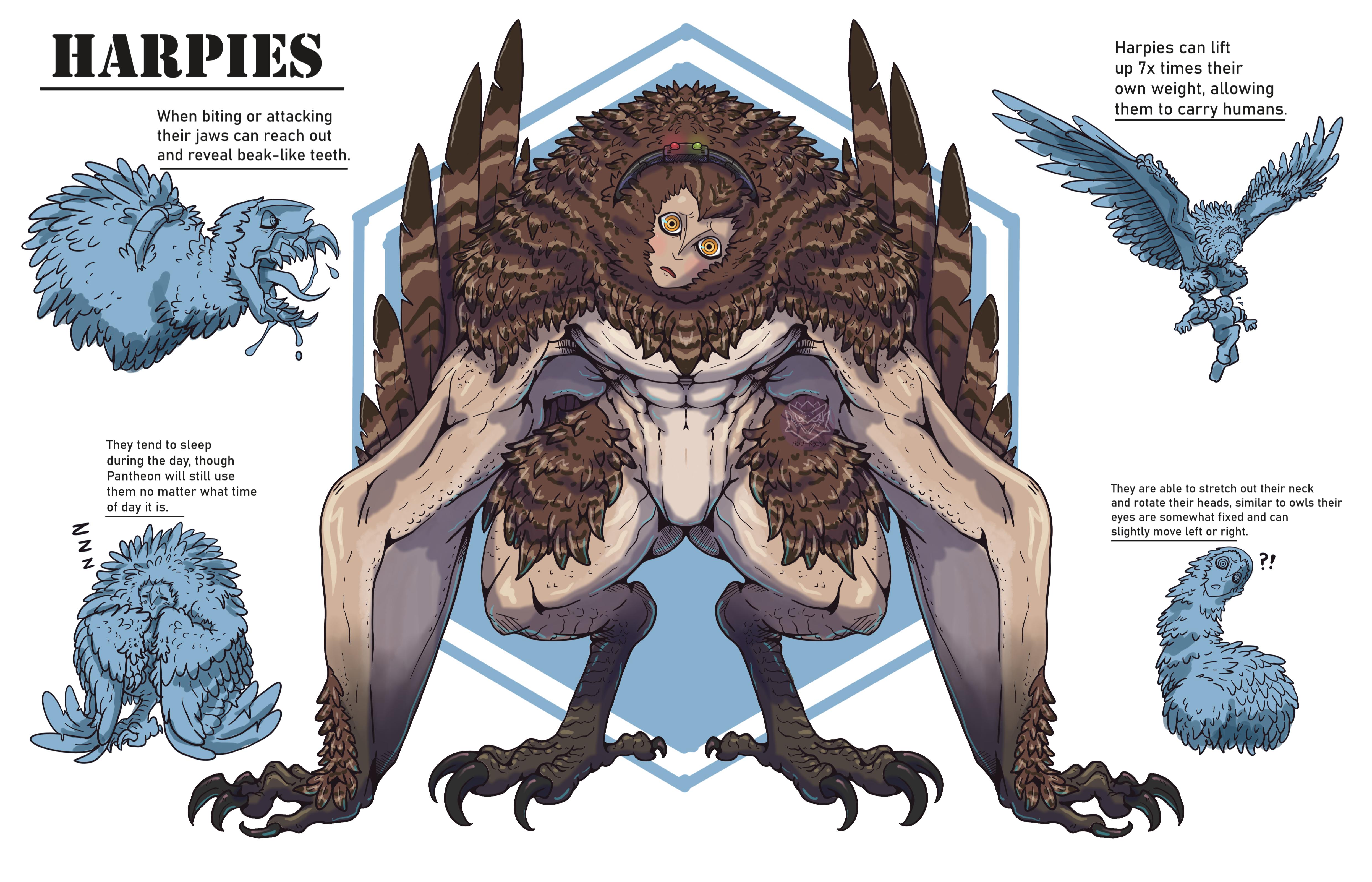 Harpies ( Revamped )
