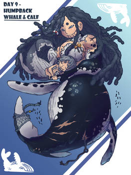 MerMay Day 9 - Humpback Whale