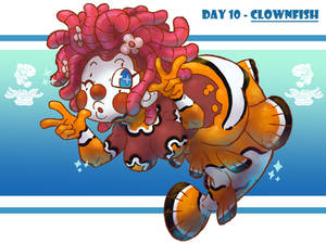 MerMay Day 10 - Clown Fish
