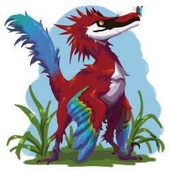 Velociraptor from Dinosaur Hunting