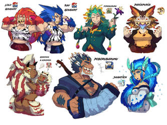 MH Frontier Monster Gals and Guys