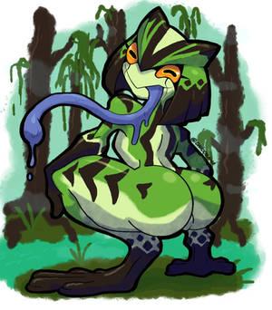 Frog Monstergirl