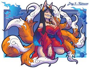 MonsterGirl Challenge Day 09 - Kitsune