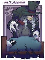 MonsterGirl Challenge Day 18 - Bogeywoman