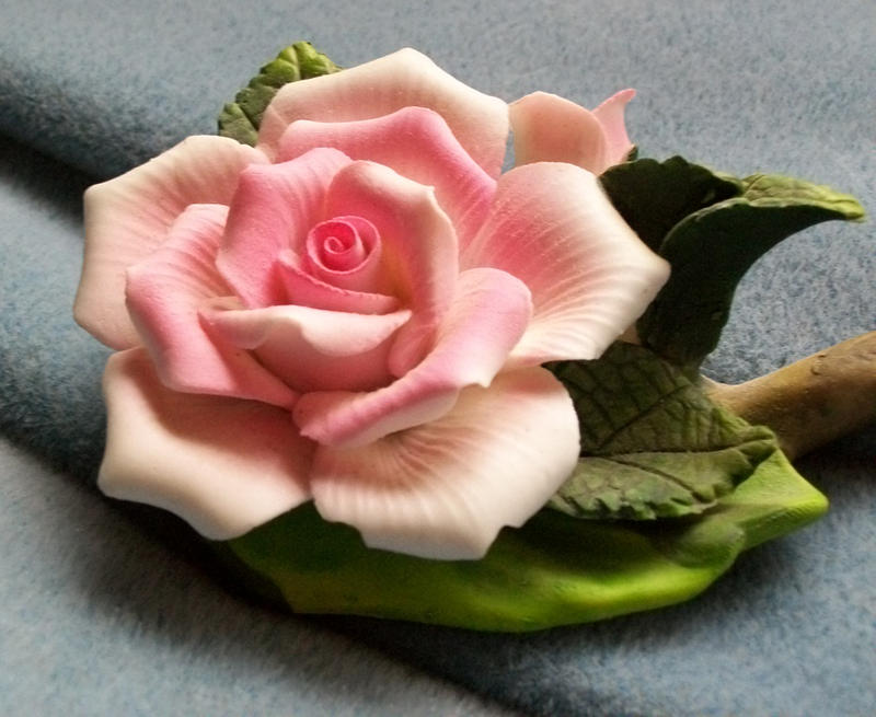 Pink Ceramic Rose IV by Jenna-RoseStock