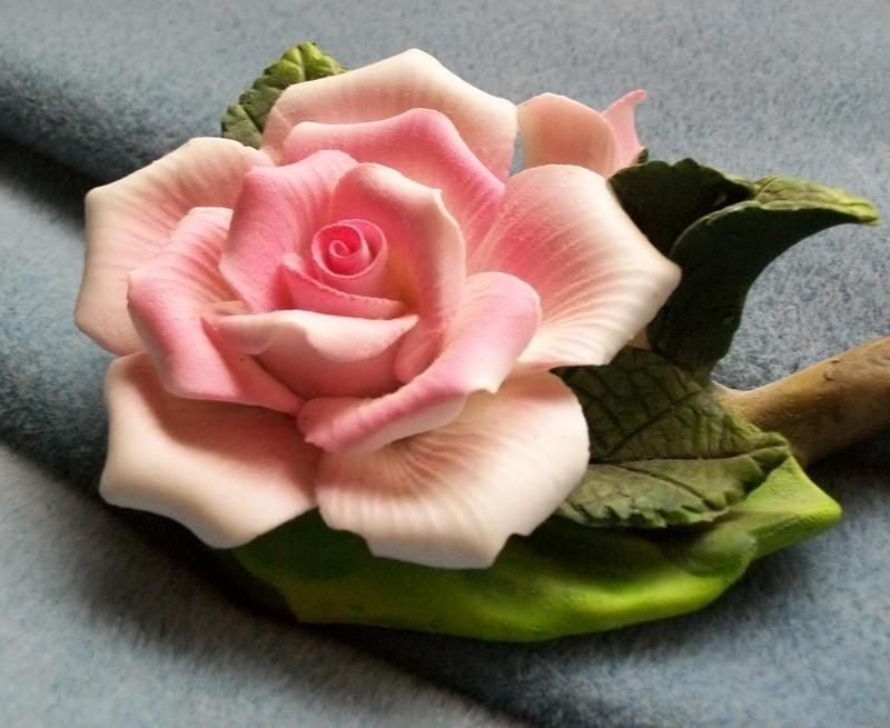 Pink Ceramic Rose IV by Jenna-RoseStock
