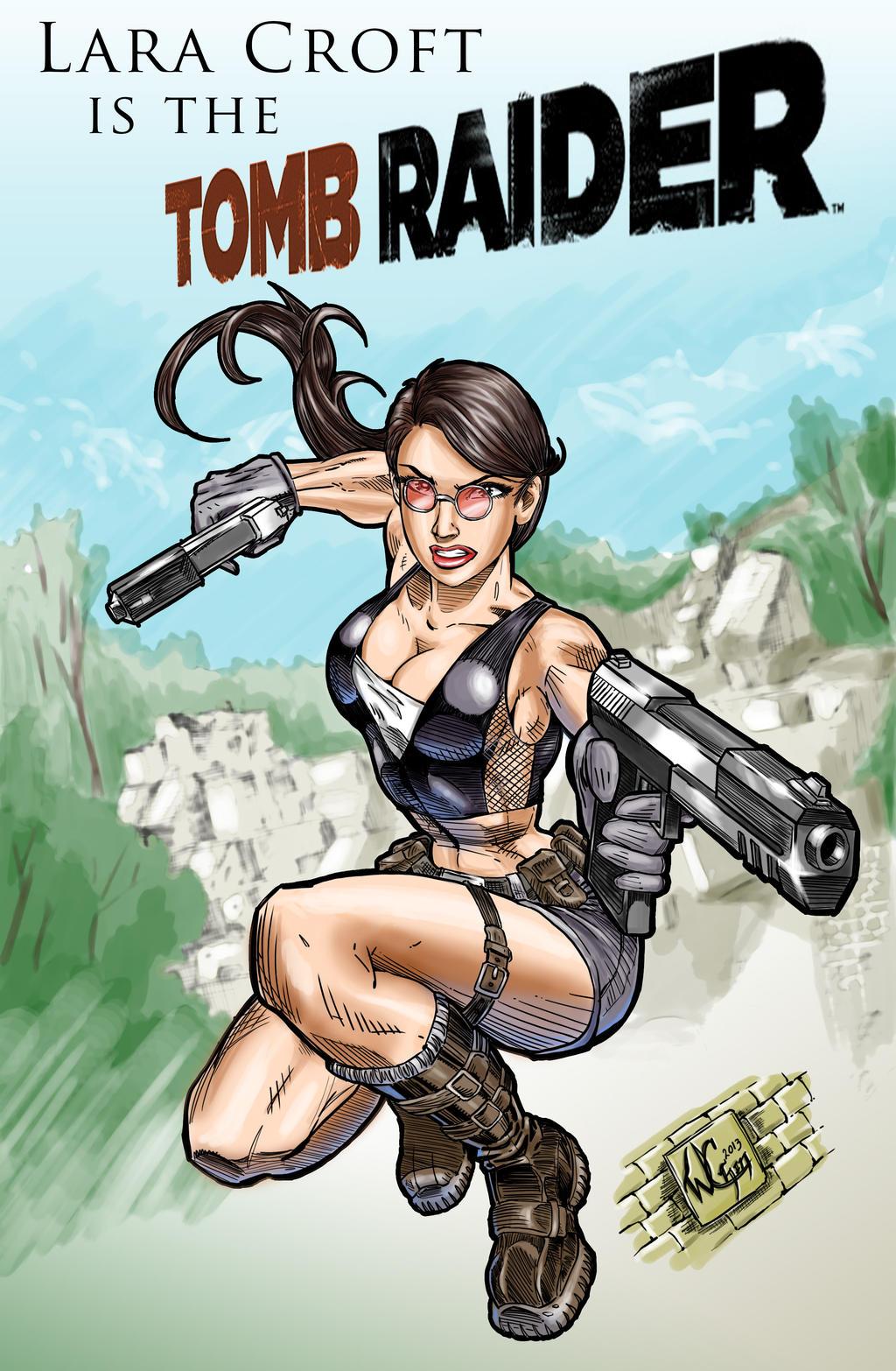 Lara Croft 2013 by wayner8088