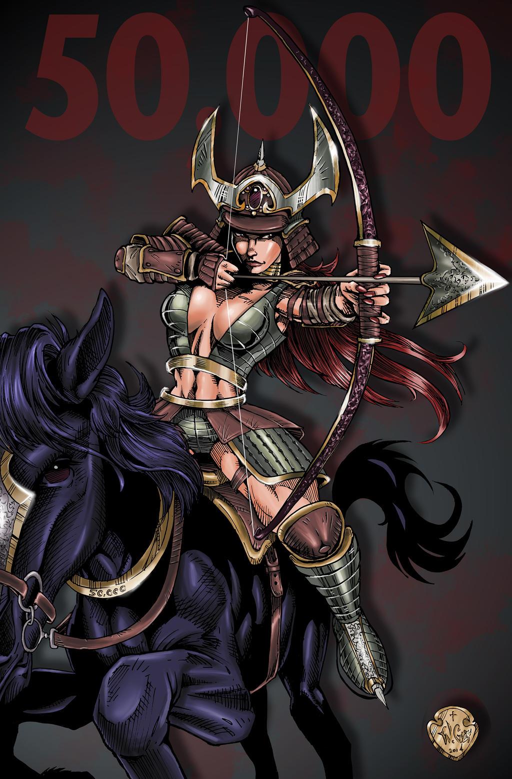 Samurai 50K Kiriban by wayner8088