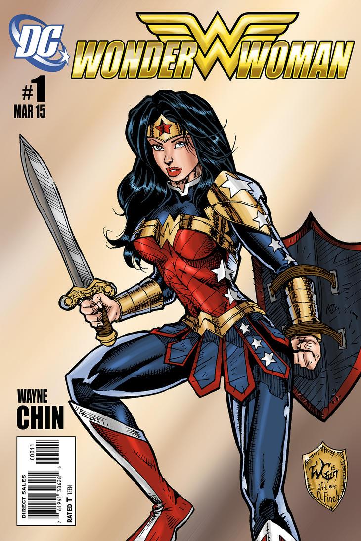 Wonder Woman 2015 by wayner8088