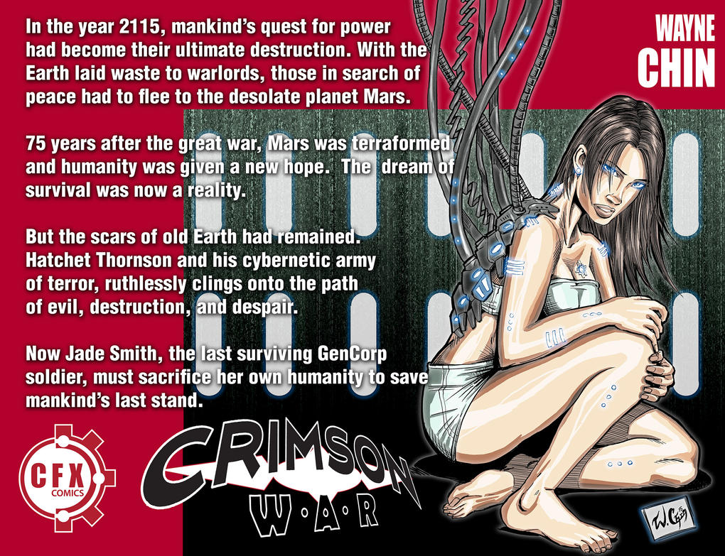 Crimson War Synopsis by wayner8088