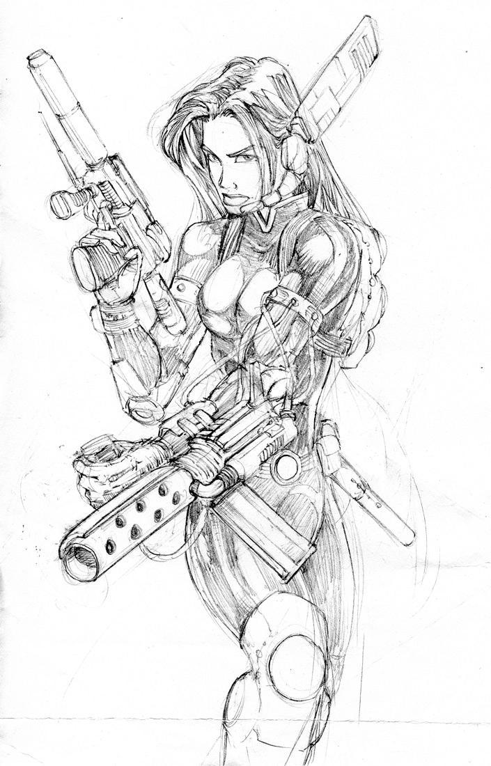 Jade Sketch by wayner8088