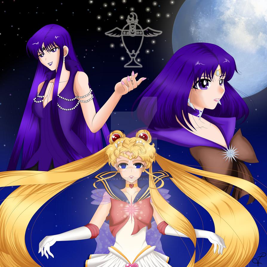 No more Tears! Sailor Moon! by SakuraTaichi