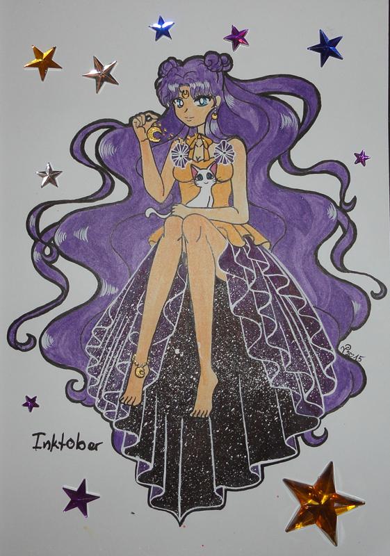 InktoberLuna by SakuraTaichi