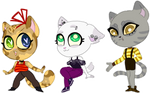 Meow crew adopt's: (closed) by galaxyllama