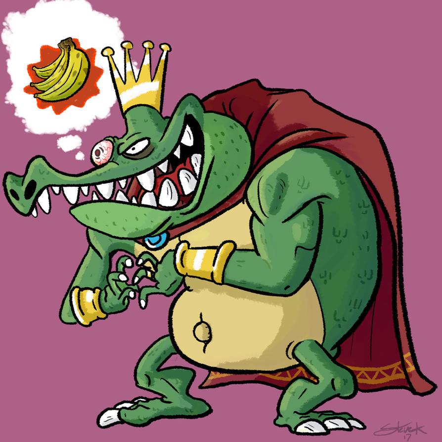 King K Rool by GarlicHERO