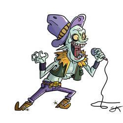 Vampire singer by GarlicHERO