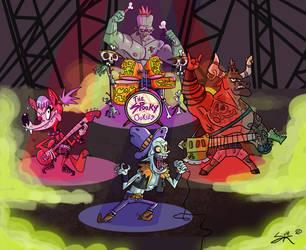 The Spooky Ookies by GarlicHERO
