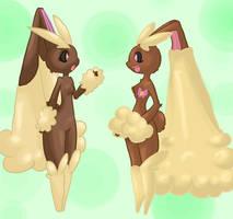 Vanilla and Penelope by Kikulina