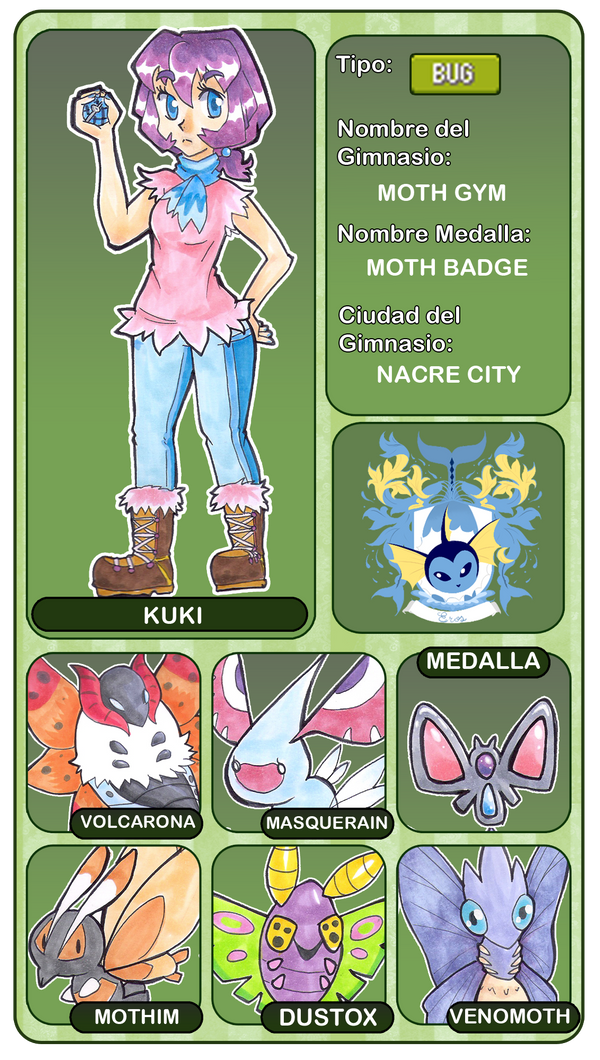 Gym leader Meme- kuki [EROS] by Kikulina