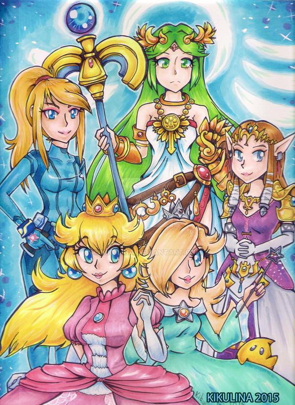 Smash Girls by Kikulina