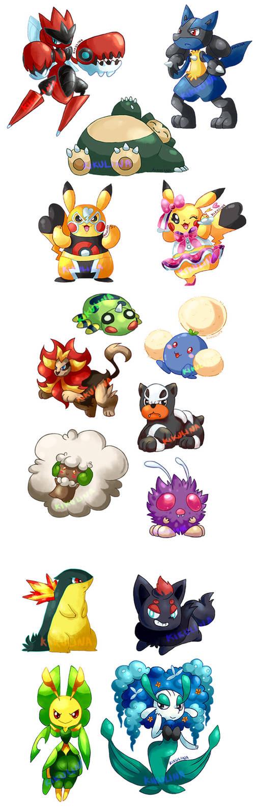 Bunch of Random Pokemon 2