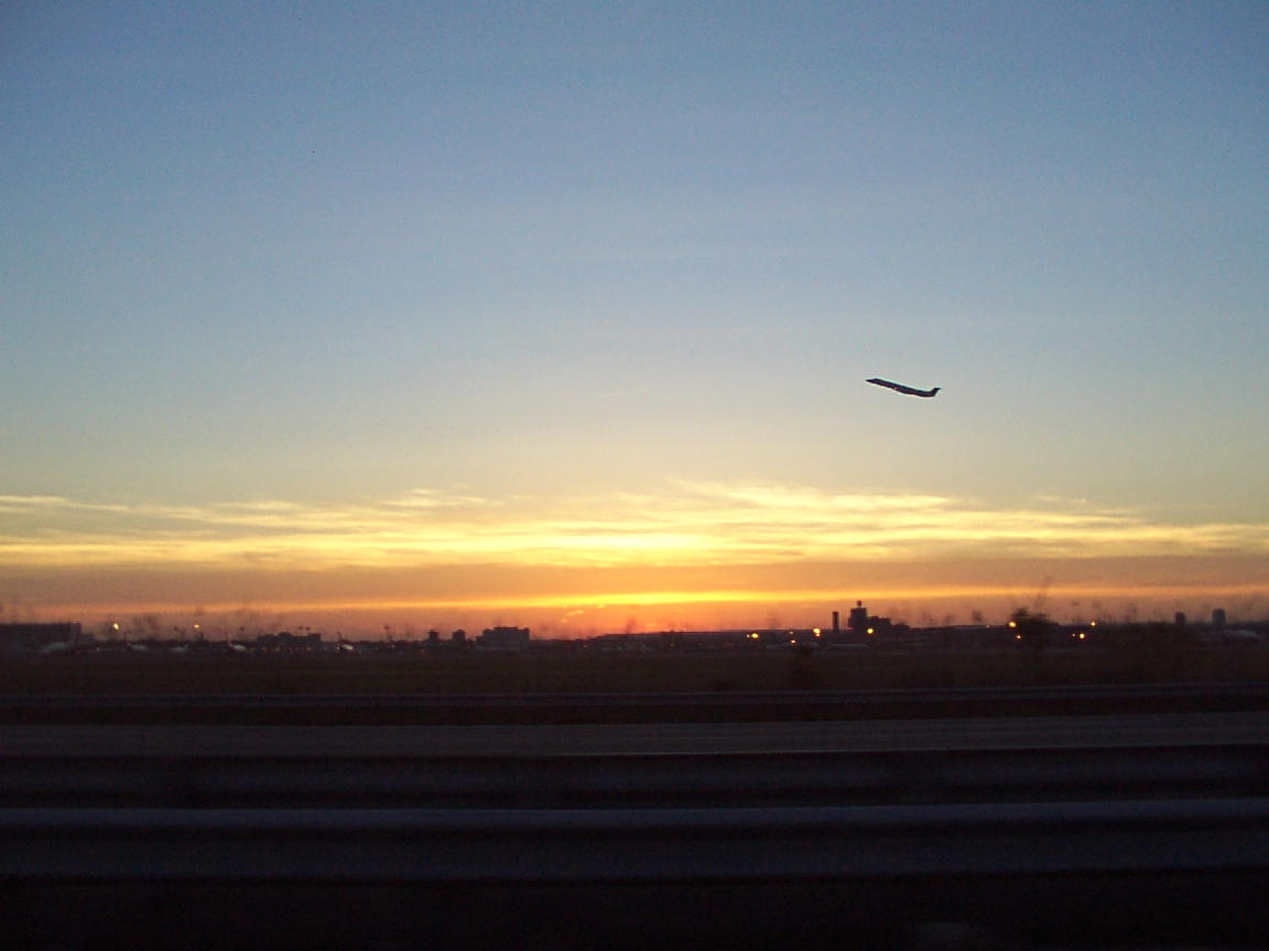 Sun Set Take Off by cuttheredwire