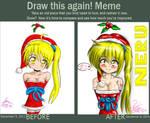 Neru merry christmas before-after by tetokasane-04