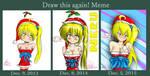 Neru merry christmas before-after 2 by tetokasane-04