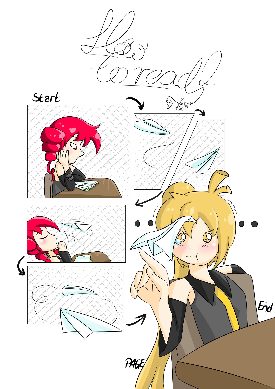 Manga page 0