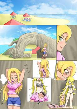Pokemon Secrets Beach Party page 3