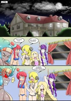 Pokemon Secrets Beach Party page 7