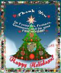 Happy Holidays My Friends by marthig