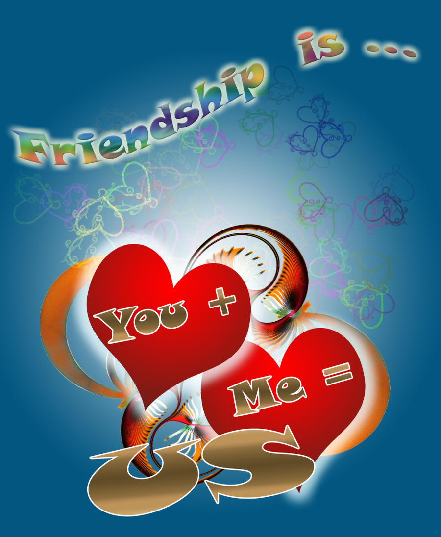 Special Friendship Valentine-s Card by marthig