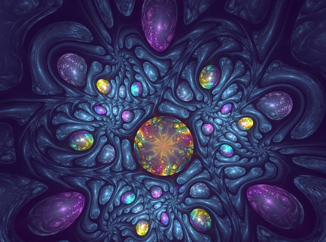 Opalescent gems - ApoChallenge 143 by marthig