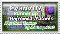 Cyan707-Runner-up-Unframed Nature Contest by marthig